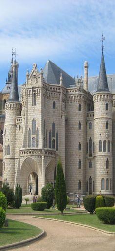 Episcopal Palace Astorga, Leon, Spain