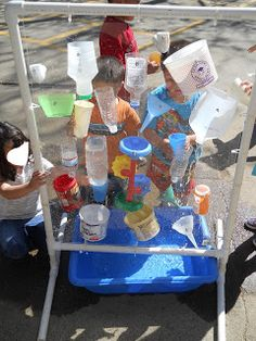 Learning and Teaching With Preschoolers: Water Wall