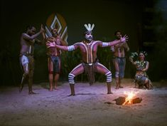 Tjapukai; Night Fire. Aboriginal Culture show and buffet dinner. Cairns. In Entertainment book too