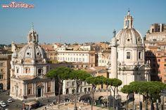 Il panorama di Roma fotografato dal belvedere ...