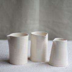 Hand Pitchers   Frances Palmer Pottery