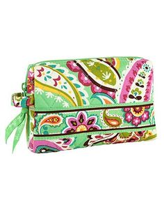 Vera Bradley Small Cosmetic Case | Toiletry Kits | Packing Aids | Magellan's Travel Supplies