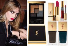 Fall 2014 Makeup Collections: YSL Leather Fetish and Chanel États Poétiques