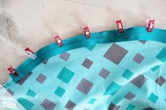 Stillkissen selber nähen - Kostenlose Anleitung mit Schnittmuster - Talu.de Sewing, Baby, Practical Gifts, Sewing Patterns, Tutorials, Kids, Ideas, Dressmaking, Couture
