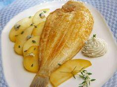 Découvrez la recette Sole grillée, pommes de terre fondantes sur cuisineactuelle.fr.