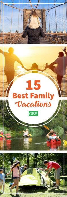 Such good ideas for family vacations! Great for both kids and adults.