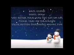 Christmas Music ~ Winter Wonderland- Avalon (with lyrics)