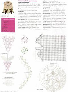 CROCHE COM RECEITAS: Como fazer capa para galão de água croche com uvas