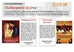 Ciclo de Cine sobre Shakespeare