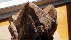 AURALITE-23 JUMBO RED & GOLDEN TIPPED Elestial Cluster - Healing Crystal 4150 gr