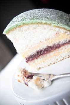 Nice description of background to this cake.Mmmm princess cake! I could sure eat some right about now.