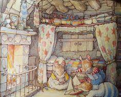 Sandy Bay- Jill Barklem.. Kids Bedroom