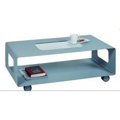 Table basse en métal, modèle ÉTÉ - GENEXCO