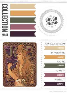 Color Muse: Collection No. 44 - Avalon Rose Design