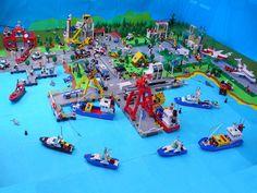 Lego Classic Scenery: Bebricton - Seaport