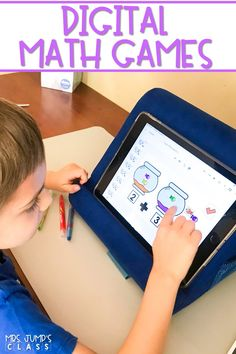 Fun and engaging digital math games for kindergarten and 1st grade. Counting, addition