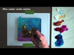 The Painterly Monoprint! Full tutorial @ http://gelliarts.blogspot.com/2012/06/painterly-monotype.html. One of the many exciting advantages of the Gelli plate is how simple it is to create a painterly monotype without a press! This video shows how to create a painterly monotype using a reference photo under your plate!
