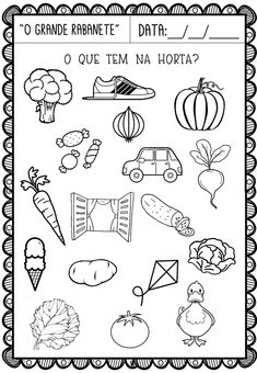Criar Recriar Ensinar Coloring For Kids, Coloring Pages, Common Core Activities, Portuguese Lessons, Math Literacy, Drawing For Kids, Homeschool, Grande, Siena