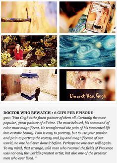 Vincent and the Doctor GIFset