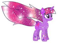 Galaxy Rainbow Power Twilight Sparkle by DigiTeku.deviantart.com on @deviantART