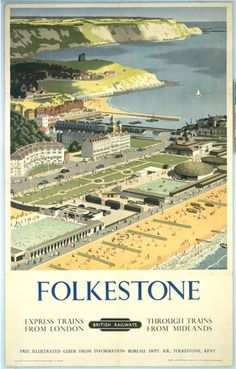 Folkestone - View from the Air