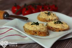 Archívy Nátierky - Page 2 of 4 - Tinkine recepty Snack Recipes, Snacks, Tasty Dishes, Muffin, Food And Drink, Breakfast, Fit, Russian Recipes, Polish