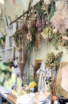 Brown Is a Color: Gardenista ~ it's time to embrace the idea that brown is a color, says Brooklyn garden shop owner Susanne Kongoy. She's spreading the message by filling her normally lush Brooklyn shop, GRDN, with dried flowers.