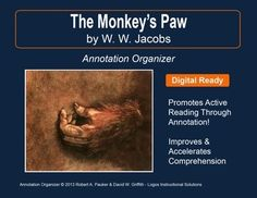 """➡ UPDATED WITH NEW ADDED FEATURES ⚡       """"The Monkey's Paw"""" by W. W. Jacobs is part of our Short Story Annotation Series designed to improve annotation skills, bolster reading comprehension, and cultivate literary appreciation."""