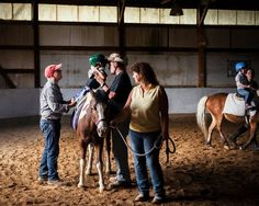 With Hippotherapy, the Horse Provides the Therapy - NYTimes.com