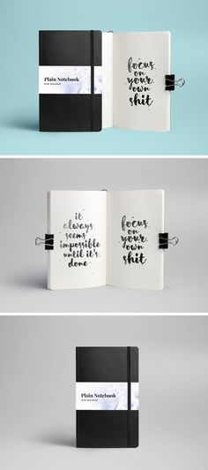 Today we're happy to share with you the mockup of a classic notebookthat will help you showcase your drawings, sketches or typography pieces in a ...
