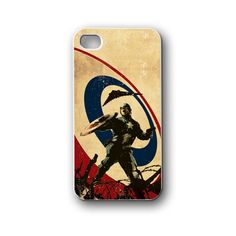 Captain America Vintage - iPhone 4,4S,5,5S,5C, Case - Samsung Galaxy S3,S4,NOTE,Mini, Cover, Accessories,Gift