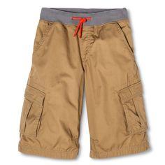 Boys' Pull-On Cargo Short