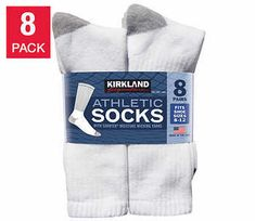 Cool #Go4USA Product…   Athletic Socks - 8 Pairs  at Costco