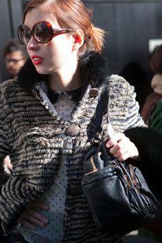 Street Style shots at Dolce&Gabbana by Emanuele Zamponi - www.emanuelezamponi.com   www.ilsole24ore.com/moda24