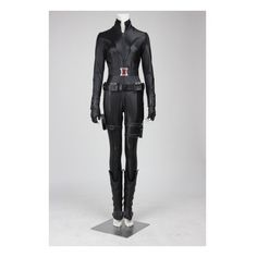 The Avengers Black Widow Natasha Cosplay Costume (£105) ❤ liked on Polyvore featuring costumes, black widow costume, cosplay halloween costumes, sexy role play costumes, cosplay costumes and sexy black widow costume