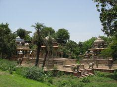 Royal Cenotaphs in Kota, Rajasthan