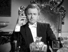 """"""" Always an absolute blast to watch; his sheer joy in acting is always tangible, especially in villainous roles. Classic Film Noir, Classic Movie Stars, Classic Films, Hollywood Actor, Hollywood Stars, Vintage Hollywood, Classic Hollywood, Claude Rains, Movie Magazine"""