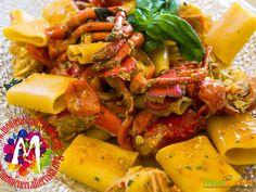 """Paccheri con sugo di astice versione """"low cost""""  #ricette #food #recipes"""