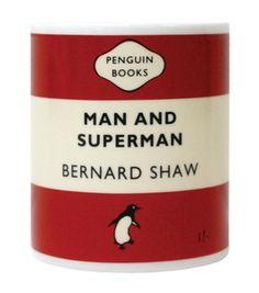 Bernard Shaw Man and Superman Mug by Penguin Books