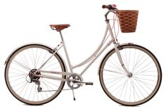 This is the bike I am looking at.  I want to be able to ride in a skirt if I like and also have gears for hills.  I can see my little basket filled with my farmer's market produce!