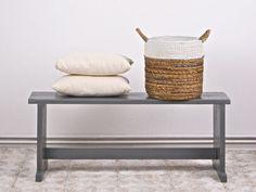 Körbe - Korb mit weissem Rand - ein Designerstück von boheme-living bei DaWanda