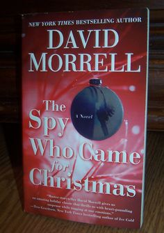 THE SPY WHO CAME FOR CHRISTMAS by David Morrell Suspense PB Book ~ Combine Shipping Only $1 @Listia.com