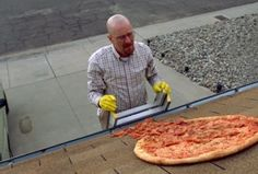 """Vince Gilligan to 'Breaking Bad' Fans: Throwing Pizza on Walter White's Roof is """"Just Not Cool"""""""