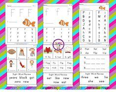 Classroom Freebies: Letter Ff Activities