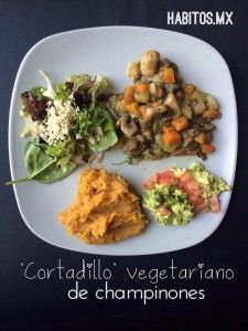 Cortadillo vegetariano - Vía Habitos.mx