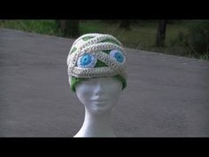 Mummy Crochet Hat - Great for Halloween - YouTube