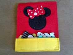 Minnie Mouse with magnetic bows