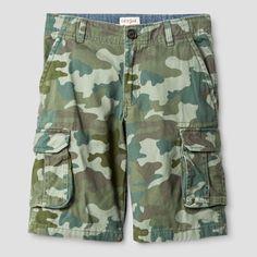 Boys' Cargo Shorts Cat & Jack Picnic Green 14, Boy's