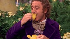 """The fact that this cup is edible. 