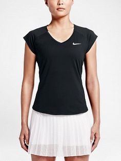 Nike Women's Basic Pure Top - Tennis Warehouse Europe Cap Sleeve Top, Cap Sleeves, Tennis Tops, Ribbed Top, Calvin Klein, Pure Products, T Shirts For Women, Tank Tops, Clothes